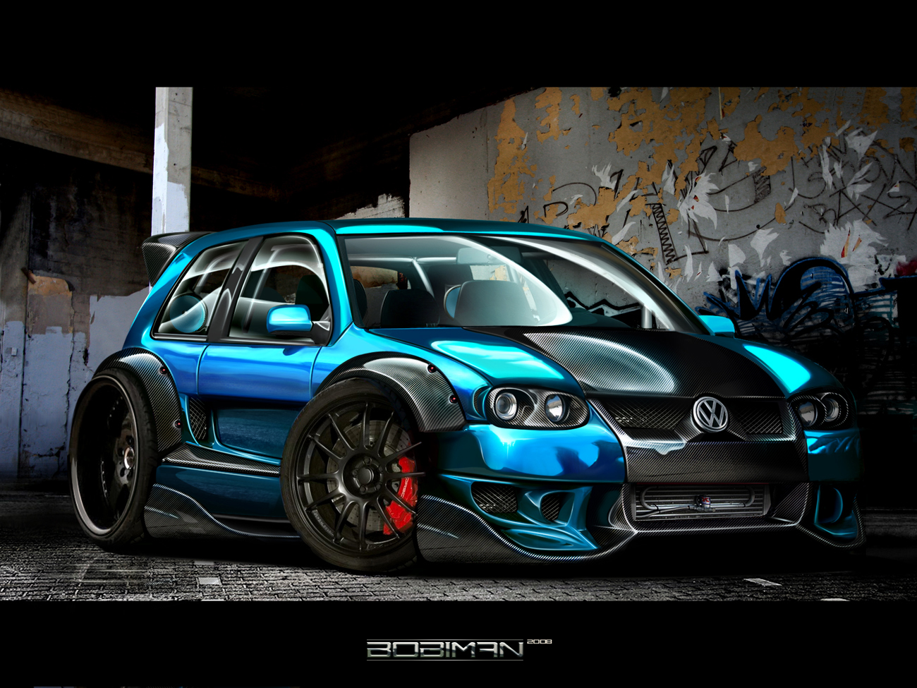 Volkswagen Golf IV Car Wallpaper